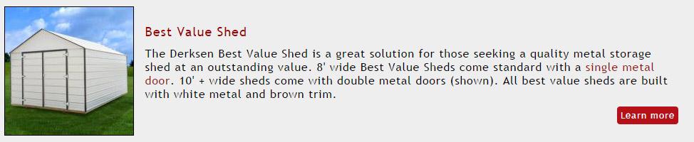 Portable Building - Best Value Shed